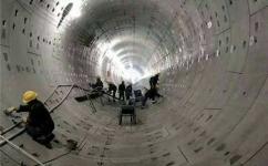 双组份聚硫密封胶zai隧道工cheng中的施工xianchang