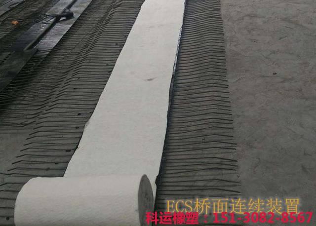 ECS型桥面伸缩缝连续装置埋入式透水式ECS伸缩缝装置新品推介7