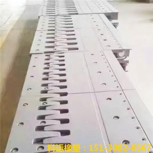 梳齿型伸缩缝的特点和安装步骤(五防梳齿板桥梁伸缩缝)7
