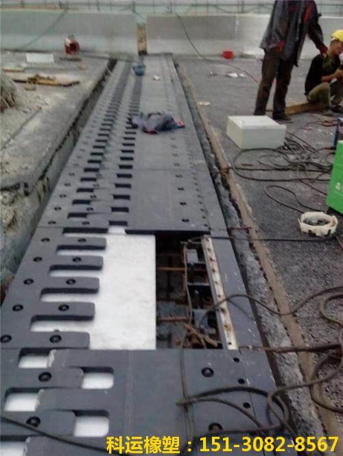 梳齿型伸缩缝的特点和安装步骤(五防梳齿板桥梁伸缩缝)6