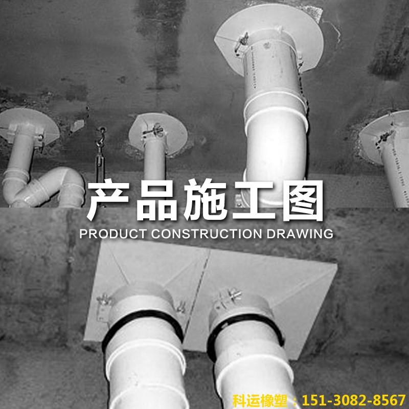 PVC吊模 管道预留洞堵洞吊模卡 预留洞封堵吊模板3