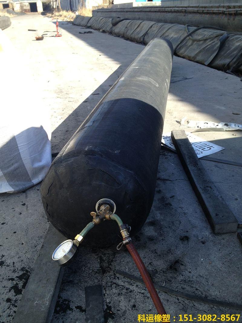 圆形隧道边沟充气芯模(隧道排水沟充气芯模)-科运良品5