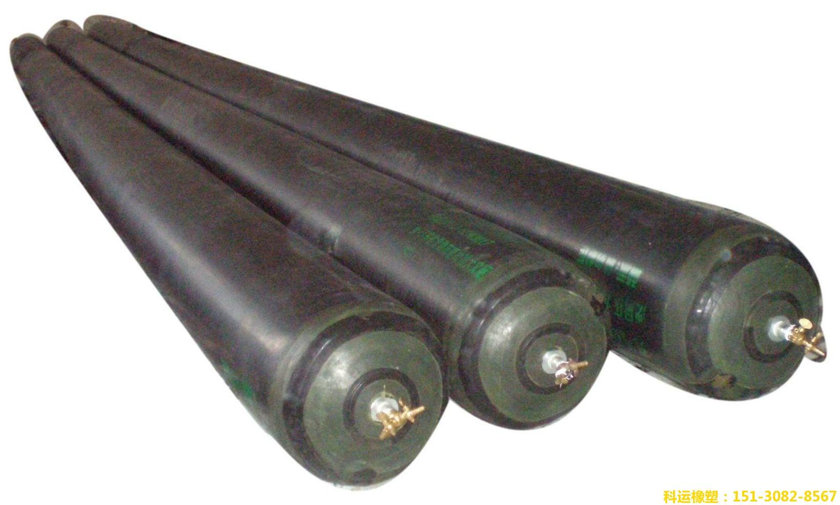 单层双层橡胶充气芯模(圆形椭圆形八角形空心板橡胶气囊内模)厂家7