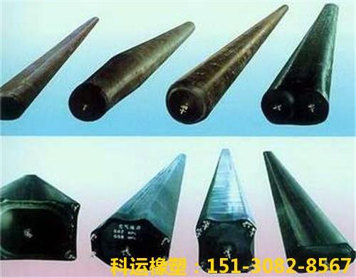 圆形八角形橡胶充气芯模气囊内模-科运橡塑国标双层加厚充气芯模厂家2