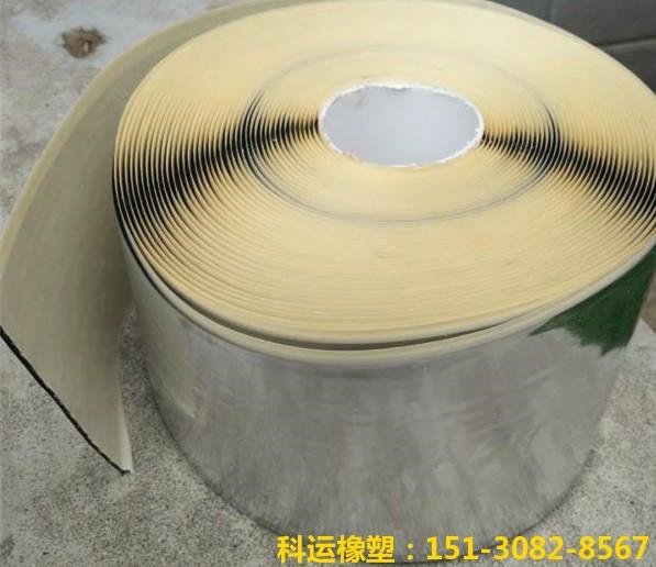单面铝箔丁基防水密封胶带-科运橡塑专业丁基防水胶带厂家批发2