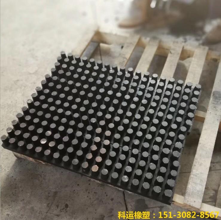 钢结构桥梁钉型氯丁橡胶减震板-科运良品钉型氯丁橡胶减震垫板厂家3