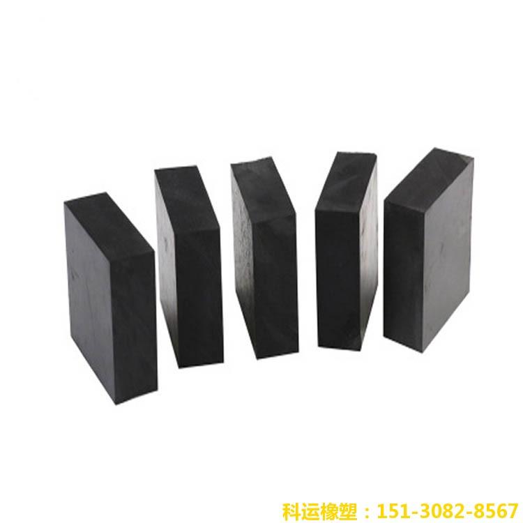 工业用减隔震橡胶垫块-科运橡塑国标矩形圆形异形橡胶缓冲垫块批发6