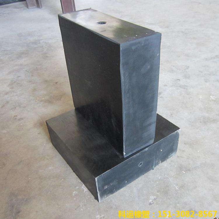 耐磨橡胶块 国标橡胶垫块-科运良品高品质橡胶减隔震橡胶块批发5