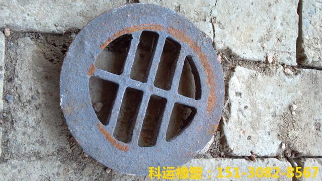桥梁铸铁泄水管盖子(泄水管篦子)-科运路桥铸铁泄水管配件批发8