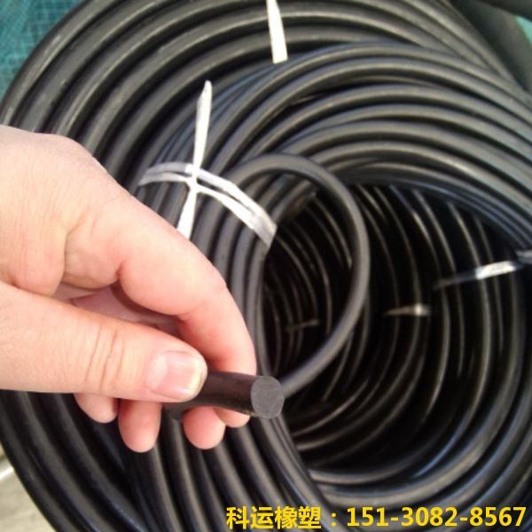 面板坝止水嵌缝专用氯丁橡胶棒-科运橡塑国标优质氯丁橡胶棒批发1