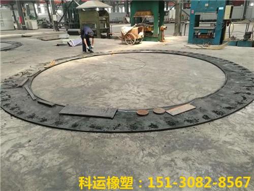 地铁盾构帘布橡胶板(72孔)-科运橡塑洞门帘布胶板定做3
