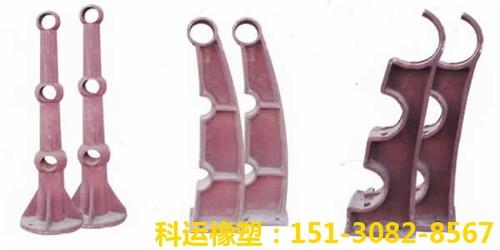 桥梁铸铁护栏支撑架(两管三管)-衡水科运良品国标桥梁铸铁护栏管托扶手厂家6