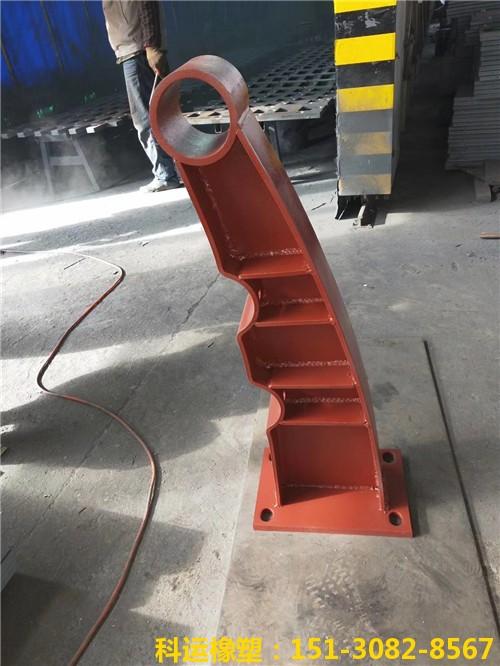桥梁铸铁护栏支撑架(两管三管)-衡水科运良品国标桥梁铸铁护栏管托扶手厂家1
