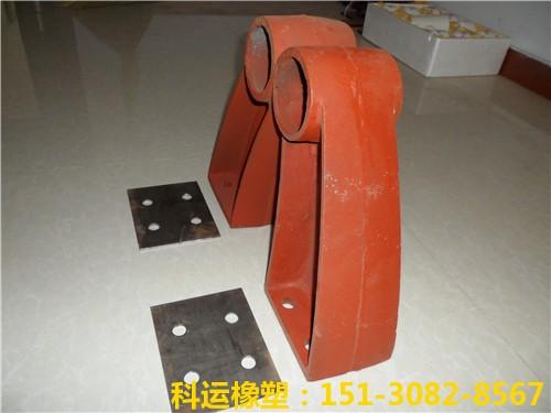桥梁防撞墙铸铁护栏支架35cm-科运良品铸铁护栏支撑架厂家批发1