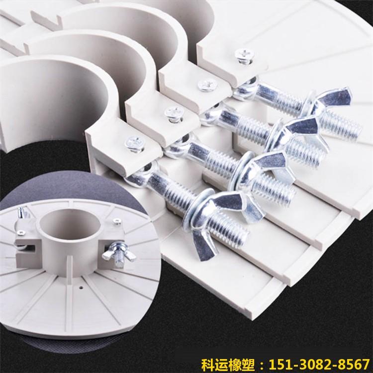 ABS材质高档管道吊模 可重复用铸铁管道消防镀锌管道预留洞吊模-科运橡塑30