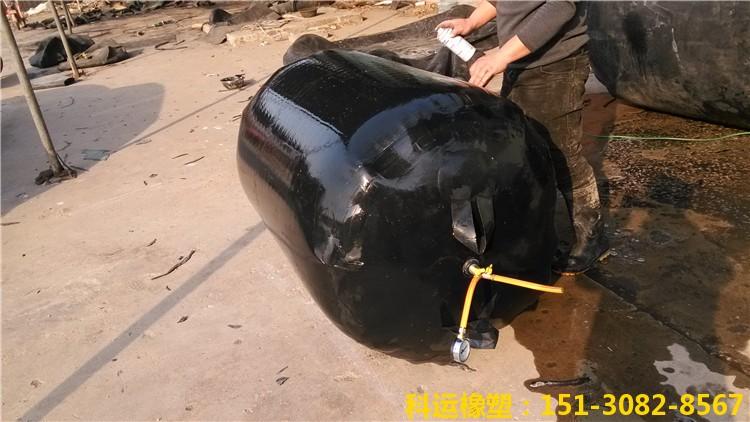 科运橡塑加厚加强加长型双层橡胶充气芯模操作步骤5