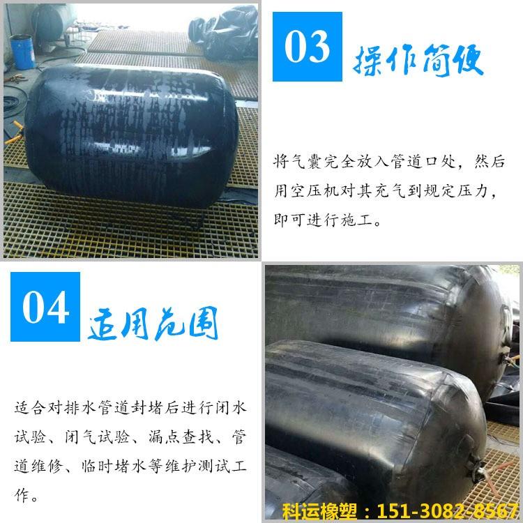 中国科运橡塑研发中心-管道封堵气囊系列产品推介3
