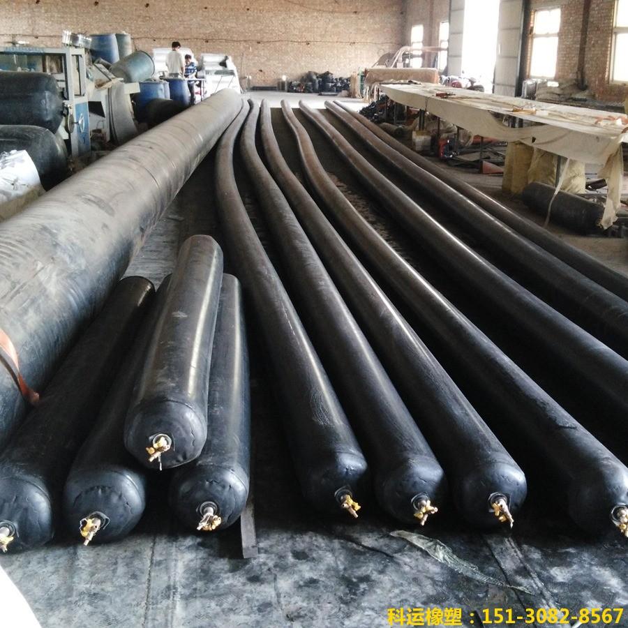 公路铁路隧道排水边沟充气芯模-科运橡塑隧道边沟橡胶气囊内模厂家批发13