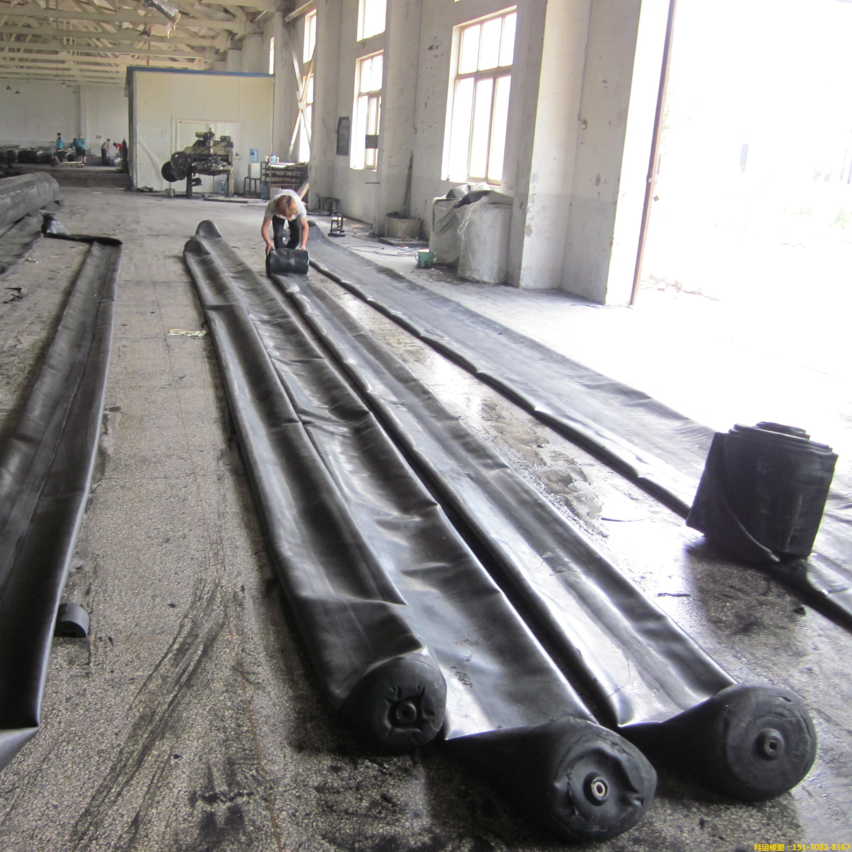 公路铁路隧道排水边沟充气芯模-科运橡塑隧道边沟橡胶气囊内模厂家批发8