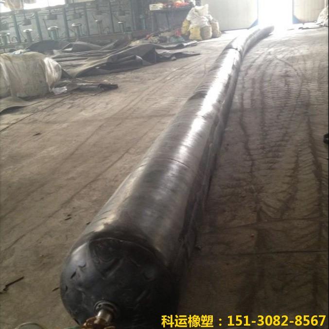 公路铁路隧道排水边沟充气芯模-科运橡塑隧道边沟橡胶气囊内模厂家批发9