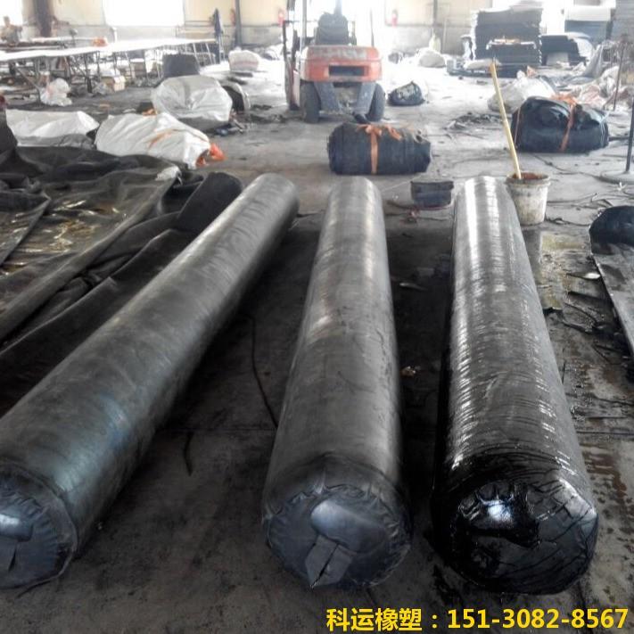 公路铁路隧道排水边沟充气芯模-科运橡塑隧道边沟橡胶气囊内模厂家批发10