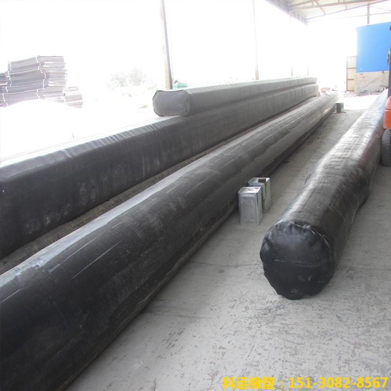 公路铁路隧道排水边沟充气芯模-科运橡塑隧道边沟橡胶气囊内模厂家批发4