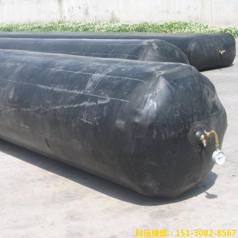 公路铁路隧道排水边沟充气芯模-科运橡塑隧道边沟橡胶气囊内模厂家批发5