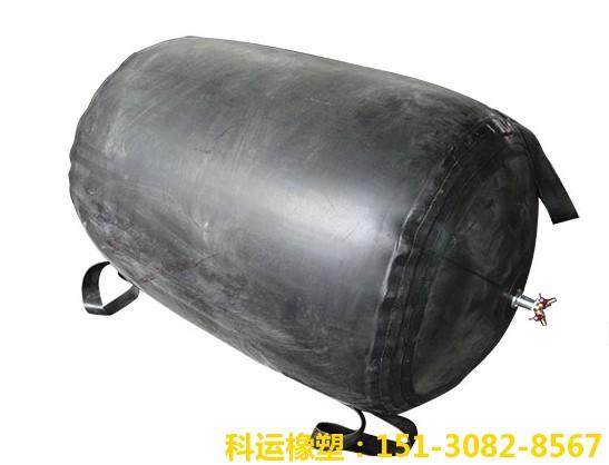 充气式管道封堵气囊充气式管道堵水气囊 科运橡塑天然橡胶双层加厚闭水气囊DN800现货4