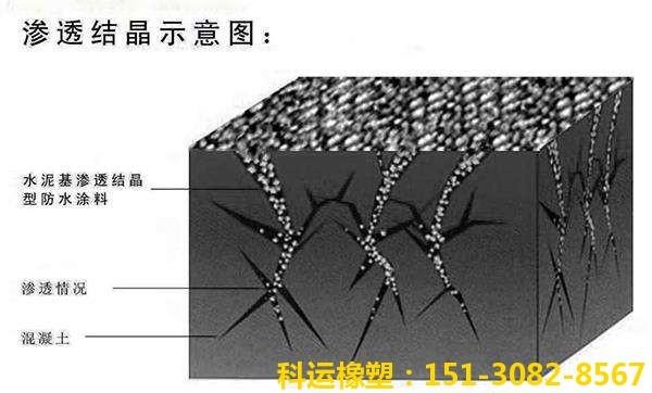 水泥基渗透结晶型防水涂料2