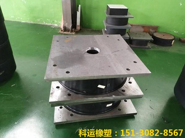 高阻尼隔震橡胶支座(I)型(II型)(滑动型)厂家2