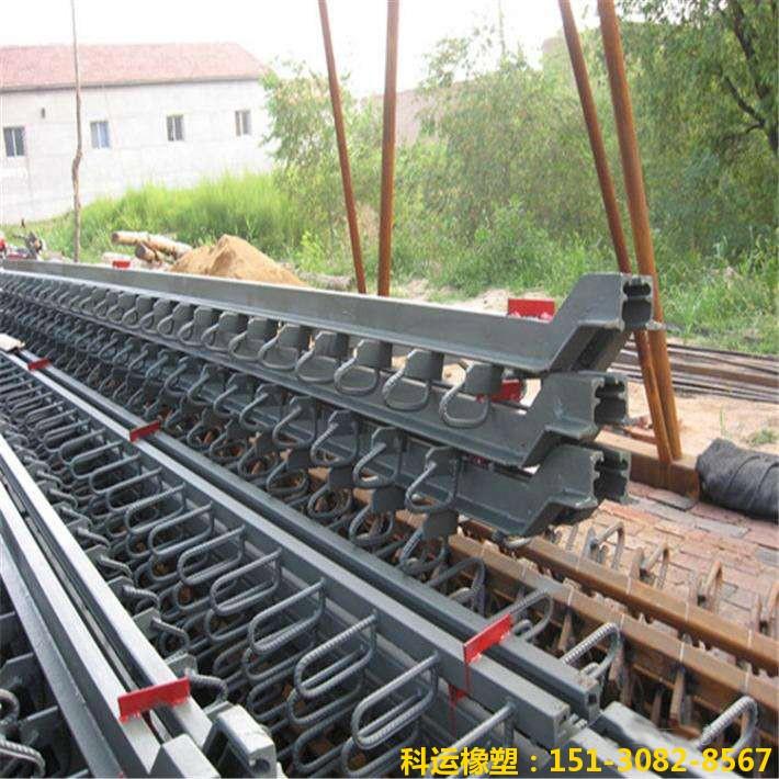 桥梁伸缩缝 d80型单组式型钢毛勒伸缩缝 单缝钢伸缩缝专家1