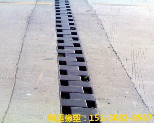 梳齿钢板型桥梁伸缩缝装置安装现场