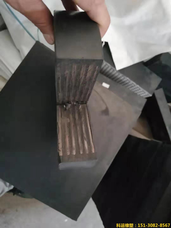 GYZF4圆形板式橡胶支座 聚四氟乙烯滑动板式橡胶支座大厂出品2