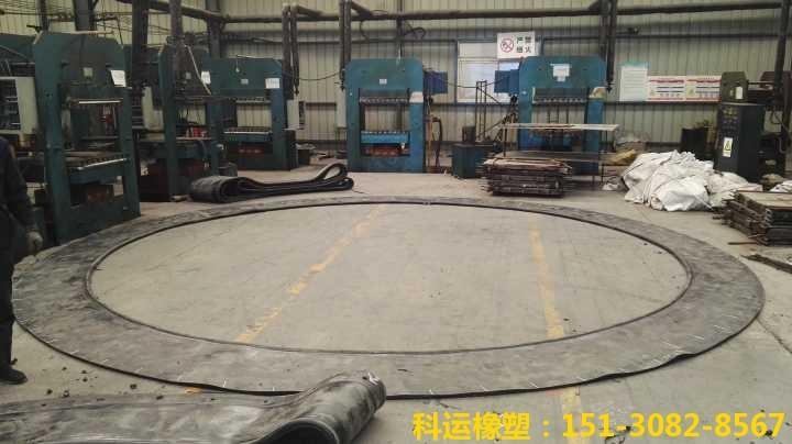 帘布橡胶板-圆环板 盾构、顶管机出洞密封装置国标出品1