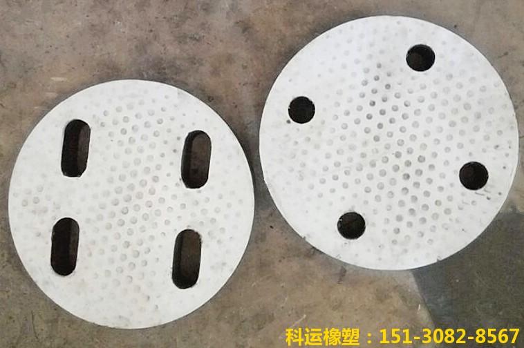 网架橡胶垫块 网架橡胶支座 四孔橡胶支座专业定制2
