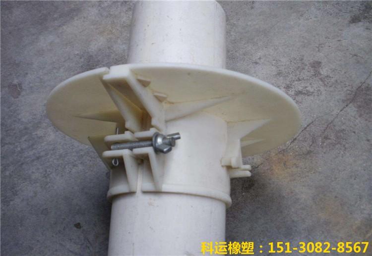 管道塑料吊模安装实景