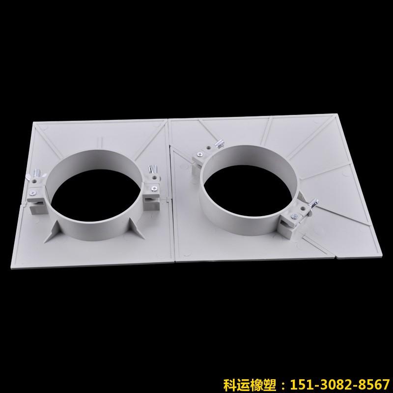 陕西安康朱经理订购的管道预留洞堵洞塑料吊模已发货1
