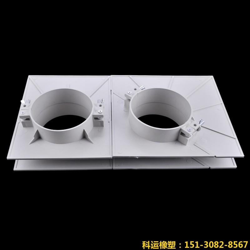 双排H管道组合型塑料吊模实物拍摄图片