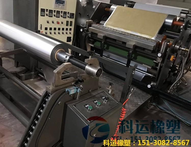 单面铝箔丁基防水胶带的生产设备和规格型号【科运良品】1