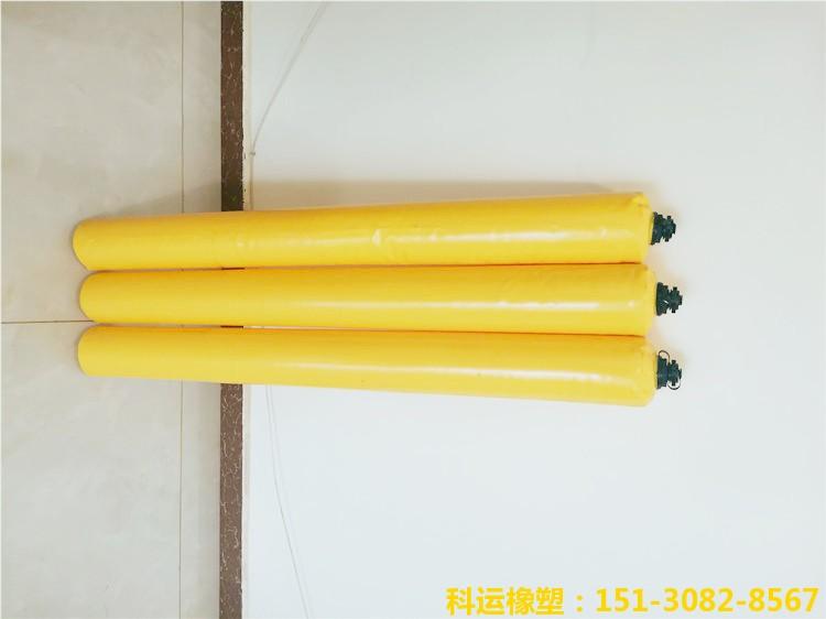 建筑梁柱隔断用充气气囊 梁柱砼拦茬气囊加工厂家2