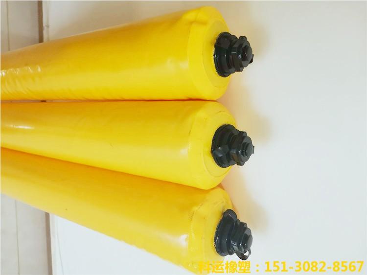建筑梁柱隔断用充气气囊 梁柱砼拦茬气囊加工厂家5