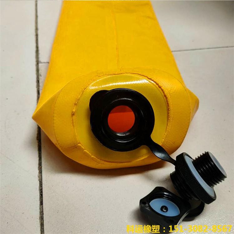 梁柱高低标号混凝土浇筑辅助工具【隔断气囊】-收口网二代3