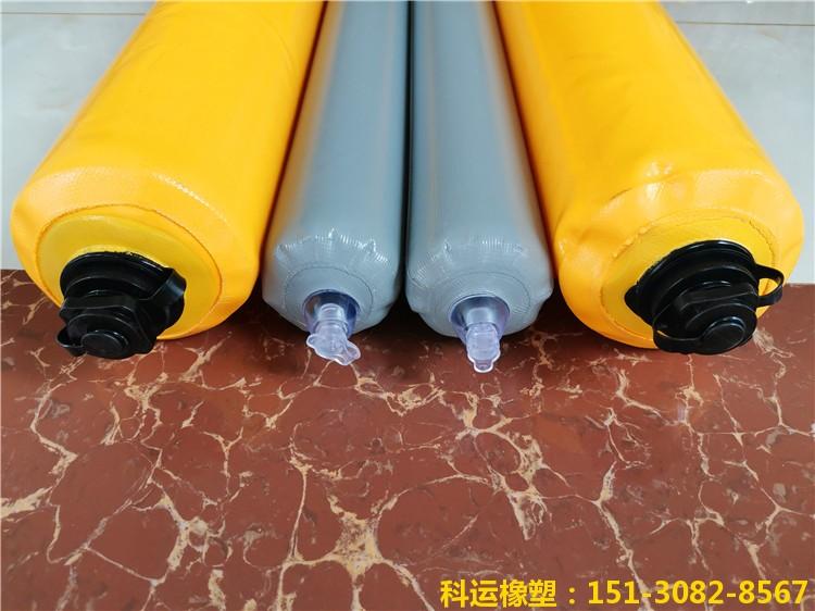 【建筑梁柱隔断拦茬气囊】楼房混凝土浇筑使用效果6