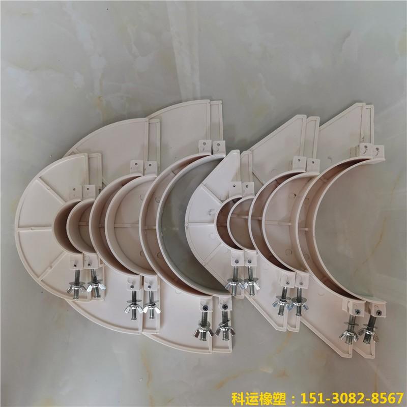 楼房排水管道预留洞堵洞用pvc吊模 塑料吊模神器6