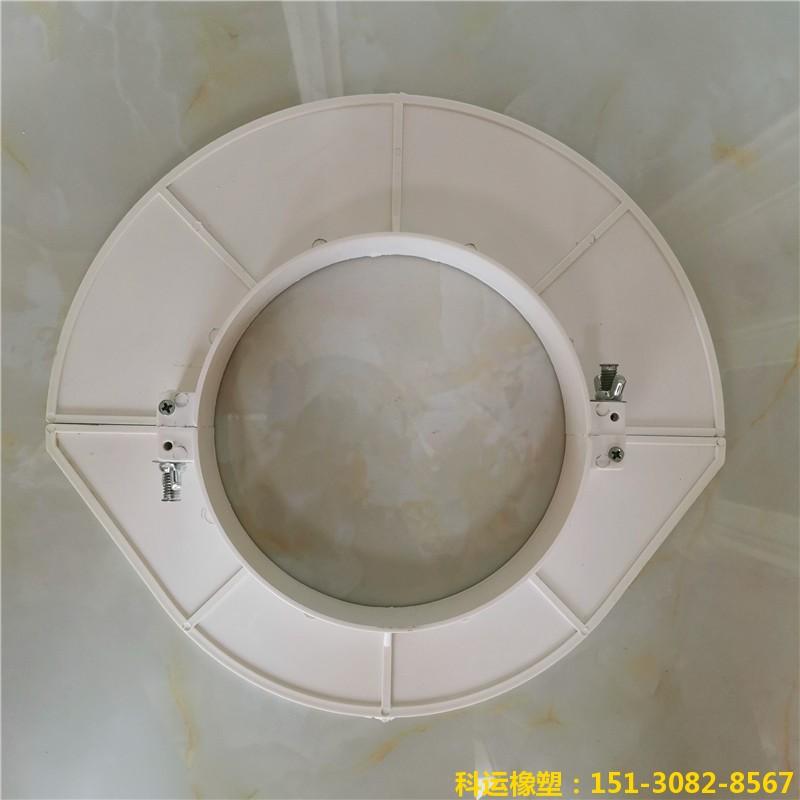 楼房排水管道预留洞堵洞用pvc吊模 塑料吊模神器11