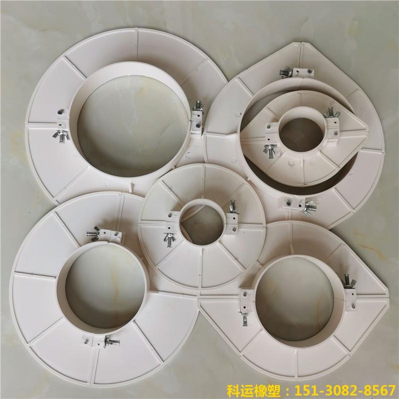 楼房排水管道预留洞堵洞用pvc吊模 塑料吊模神器8