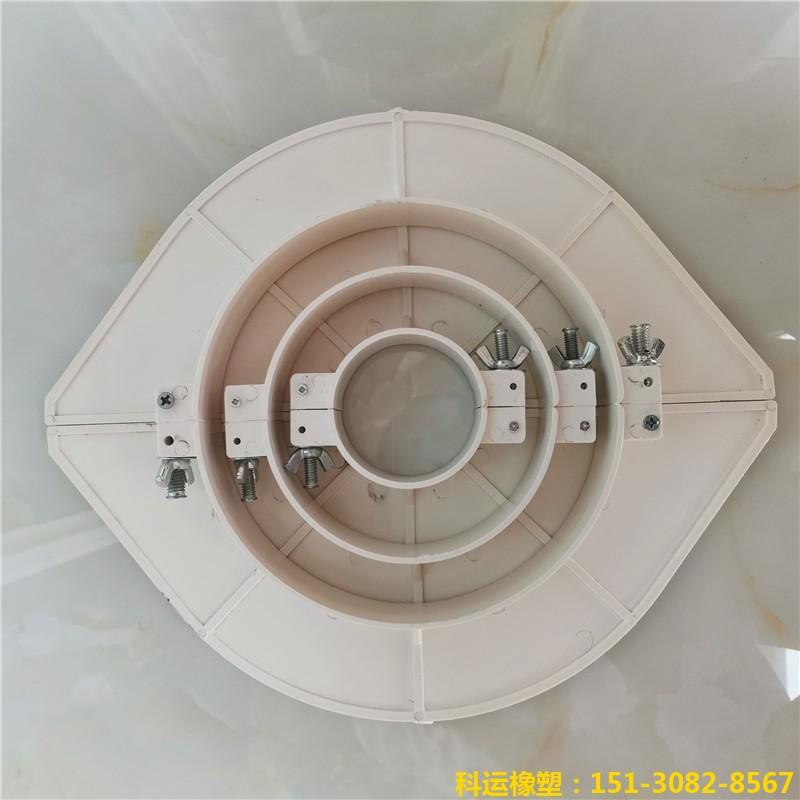 楼房排水管道预留洞堵洞用pvc吊模 塑料吊模神器19