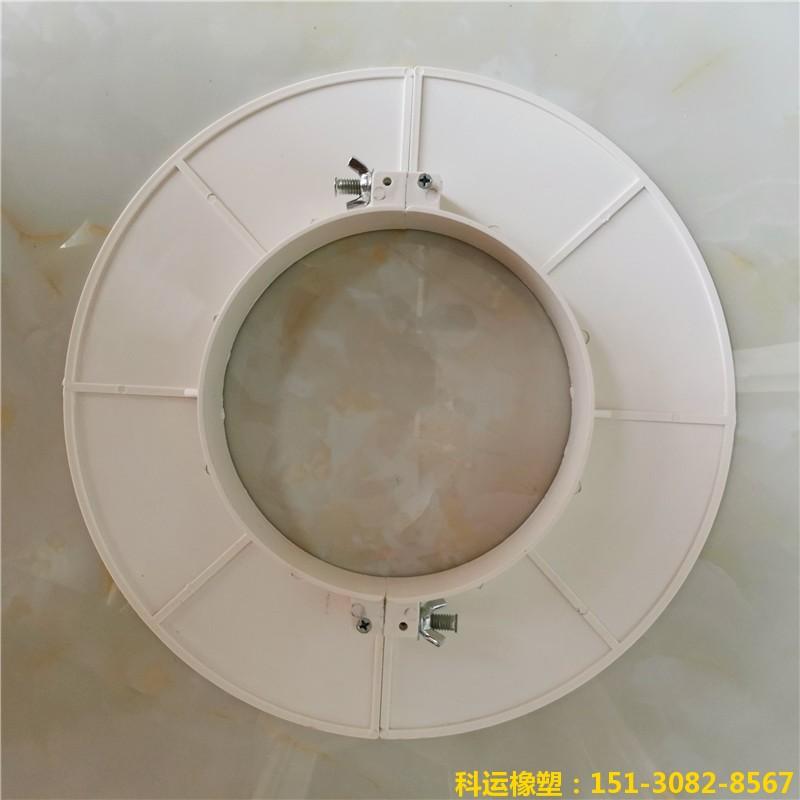 楼房排水管道预留洞堵洞用pvc吊模 塑料吊模神器20
