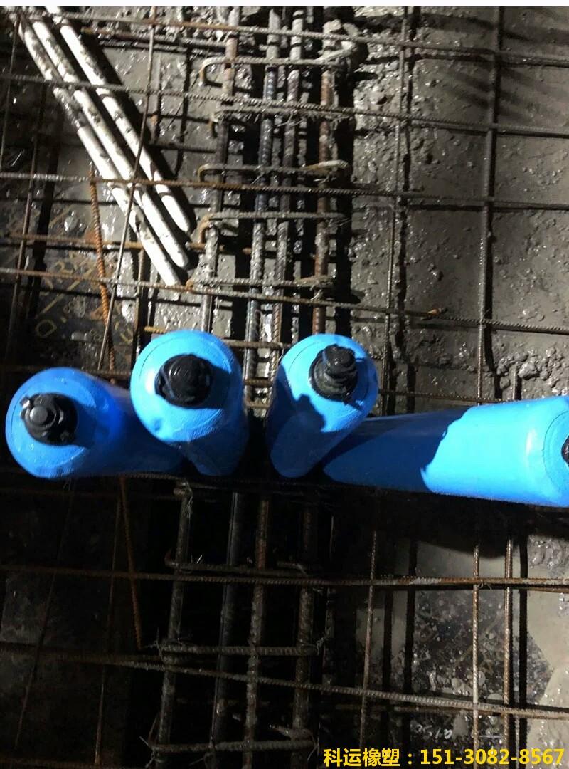 建筑高低标号混凝土隔断拦茬充气柱 砼隔断气柱4