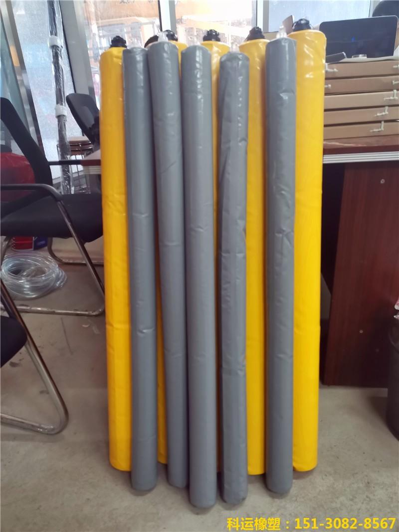 高层建筑墙柱与梁板多标号混凝土防串标用充气气囊3